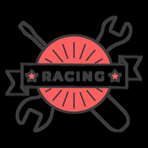 Chave de fenda de corrida chave colorida adesivo de crachá Transparent PNG