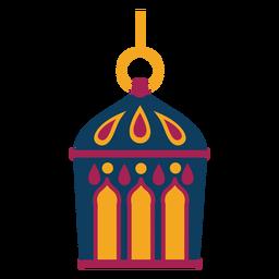 Icono de lámpara de anillo lámpara plana