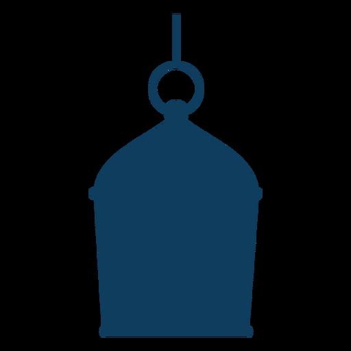 Silhueta de lâmpada de anel ícone de lâmpada Transparent PNG