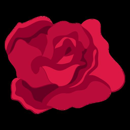 Rose flower bud petal flat Transparent PNG