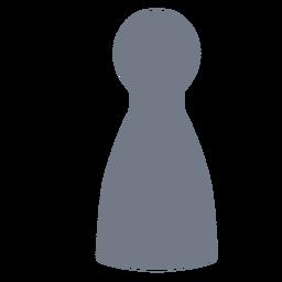 Kegelpfand Silhouette