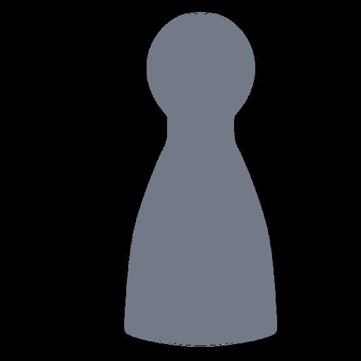 Skittle peón silueta Transparent PNG