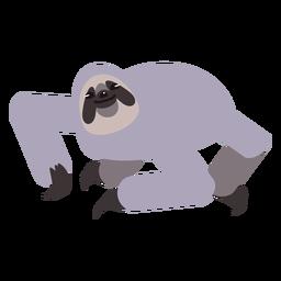 Garra de focinho de preguiça arredondada