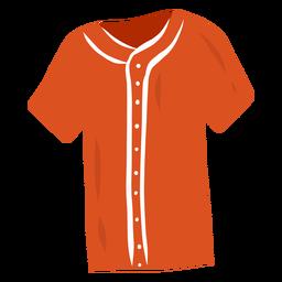 Botón de la camiseta plana