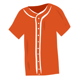 T-Shirt Knopf flach