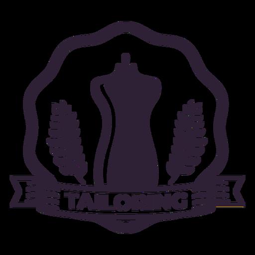 Tailoring branch mannequin dummy waist badge sticker Transparent PNG