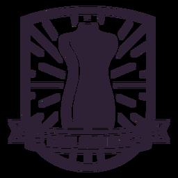 Tailoring mannequin dummy waist badge sticker