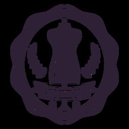 Etiqueta engomada de la insignia de la rama del maniquí del maniquí de la adaptación