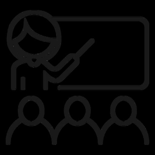 Professor do painel do professor explicação do curso do aluno