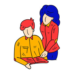 Bosquejo estudiante chaqueta libro texto pantalones chaqueta
