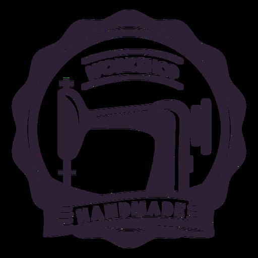 Workshop handmade sewing machine needle badge sticker