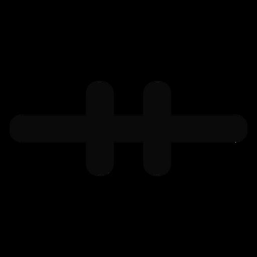 Z doorbrand lock protection silhouette Transparent PNG
