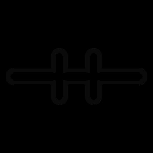 Curso de proteção de trava de porta Z Transparent PNG