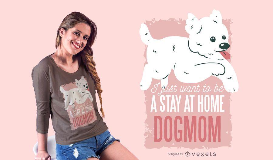 Dogmom t-shirt design