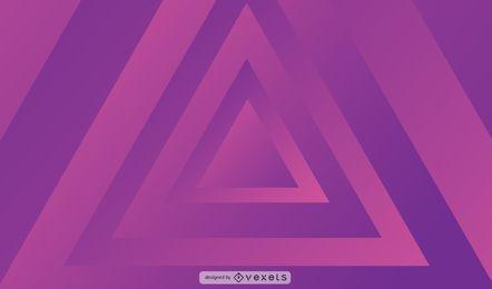 Vetor de fundo de triângulo abstrato