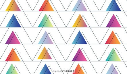Abstract geometric triangular background