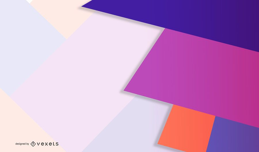 Pastel de diseño geométrico vibrante