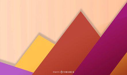 Ilustração abstrata colorida