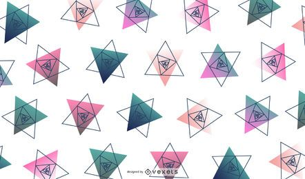Triangle Geometric Design Illustration