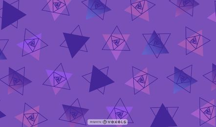 Geometric Triangle Background Illustration