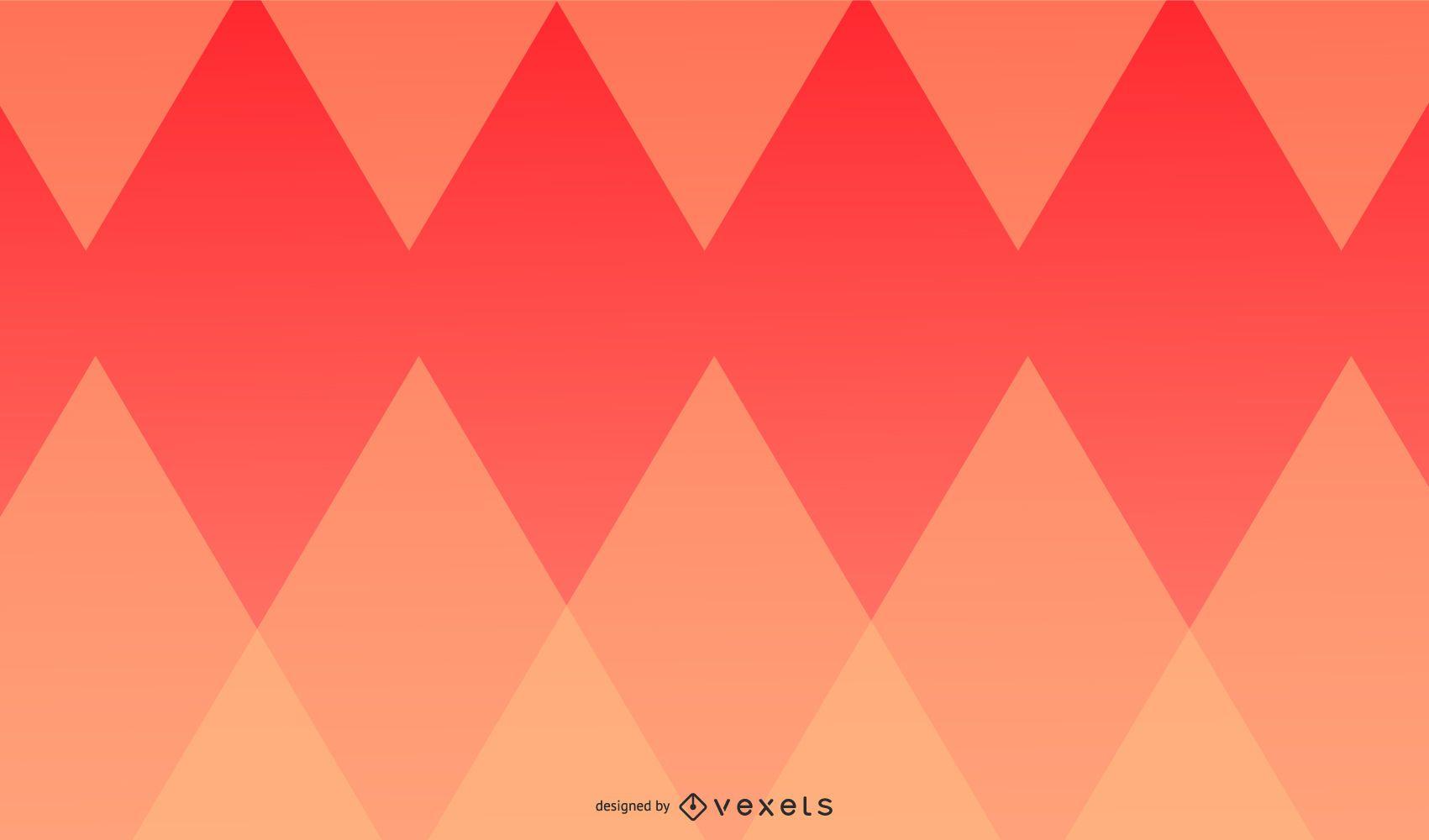 Warm Diamond Geometric Design