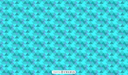 Aqua-geometrisches abstraktes Design
