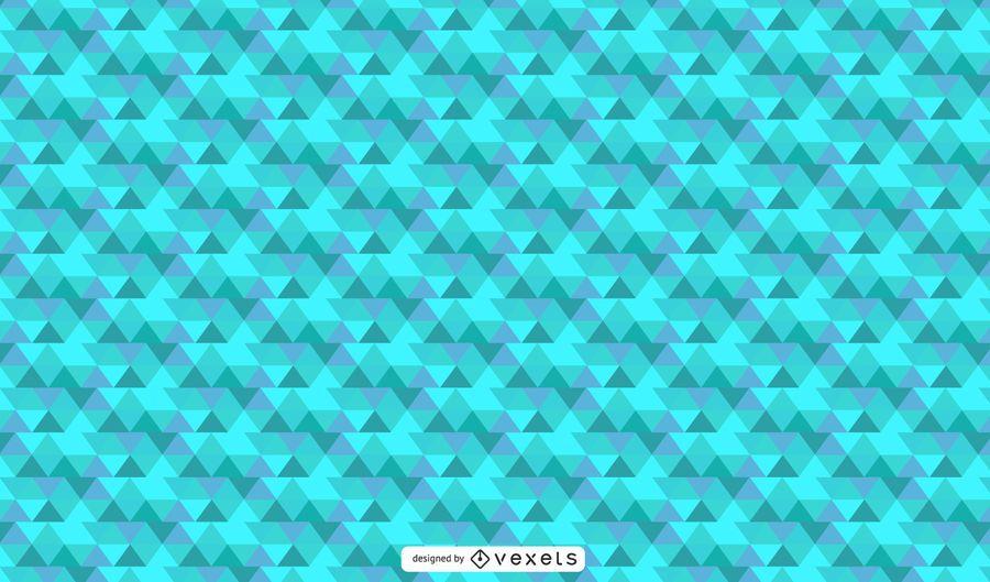 Fundo abstrato geométrico do Aqua