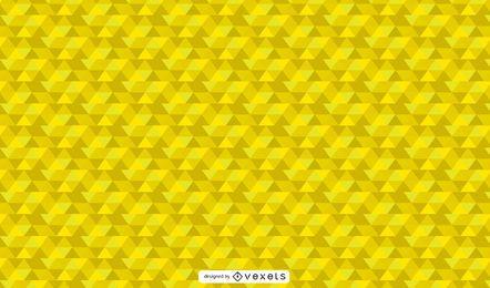 Vibrierende gelbe geometrische abstrakte Tapete