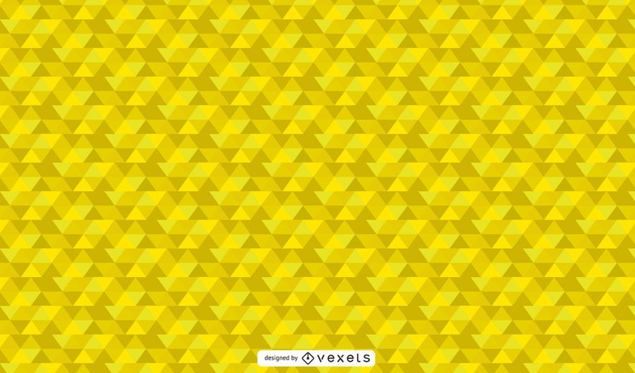 Vibrant Yellow Geometric Abstract Wallpaper