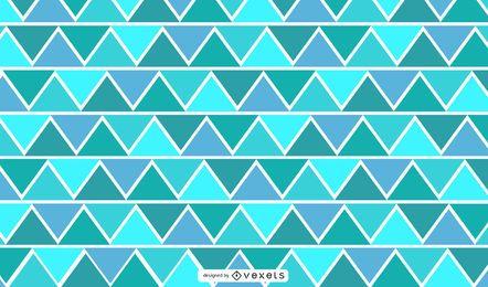 Ilustración geométrica triangular en zig-zag