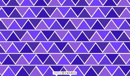 Ilustración abstracta geométrica del triángulo