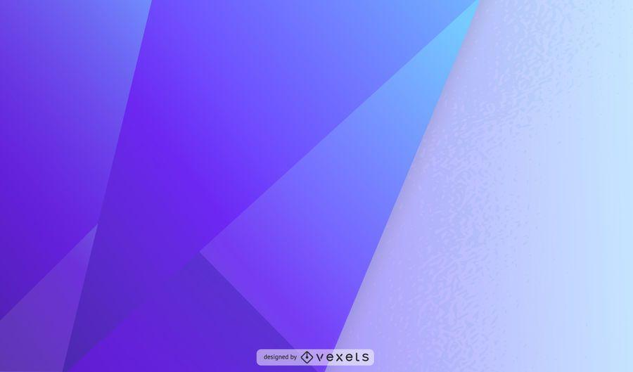 Ilustração de forma sobreposta geométrica roxa