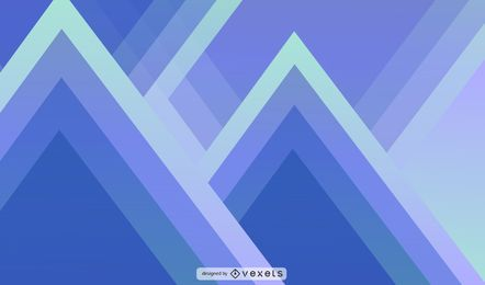 Ilustración abstracta y geométrica del triángulo
