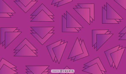 Fundo geométrico do triângulo