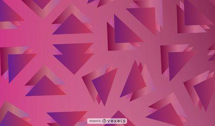 Ilustração geométrica abstrata do triângulo