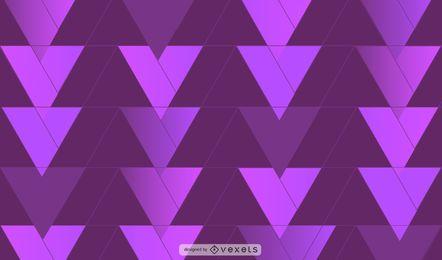 Diseño de fondo de triángulos de color morado oscuro