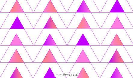 Fondo geométrico triángulos rosa púrpura