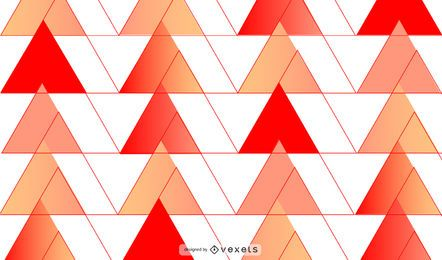 Red triangles background design