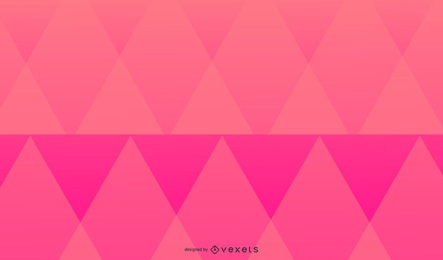 Pink triangles background design