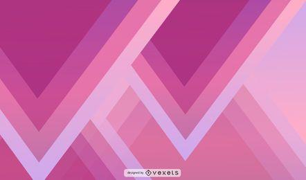 Design de papel de parede abstrato triângulo