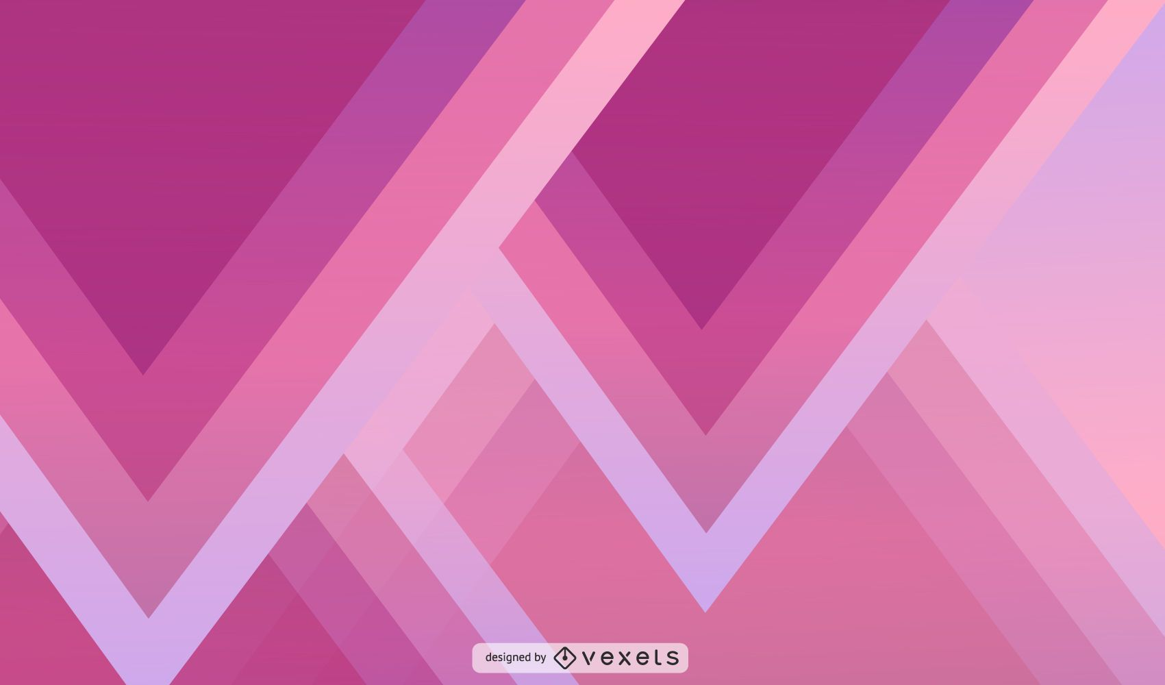 Abstract Triangle Wallpaper Design