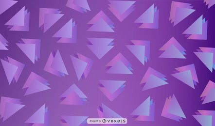 Purple triangles background design