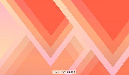 Design de fundo de triângulo abstrato
