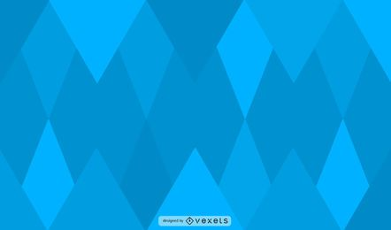 Blue diamonds background design