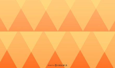 Desenho de fundo de diamantes laranja