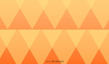 Diseño de fondo de diamantes naranja
