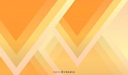 Abstrakte Dreieck-Gelb-Tapete