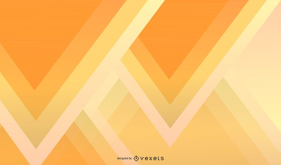 Abstract Triangle Yellow Wallpaper