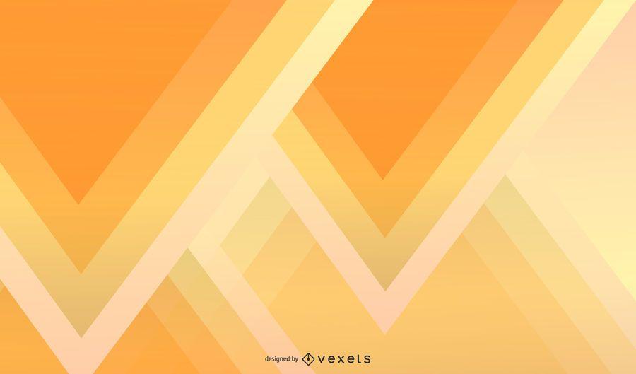 Papel de parede abstrato triângulo amarelo