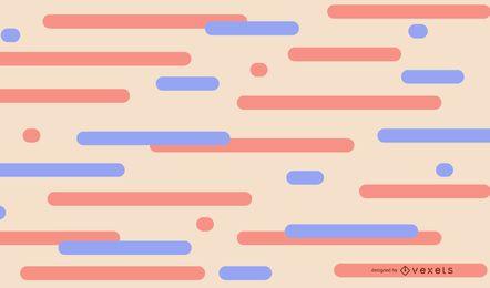 Fundo abstrato de linhas pastel